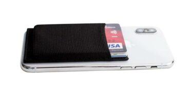 Smartphone Kartenhalter Portemonnaie von Twing Smarthone Wallet fürs Handy für Kreditkarten und Noten und Münzen