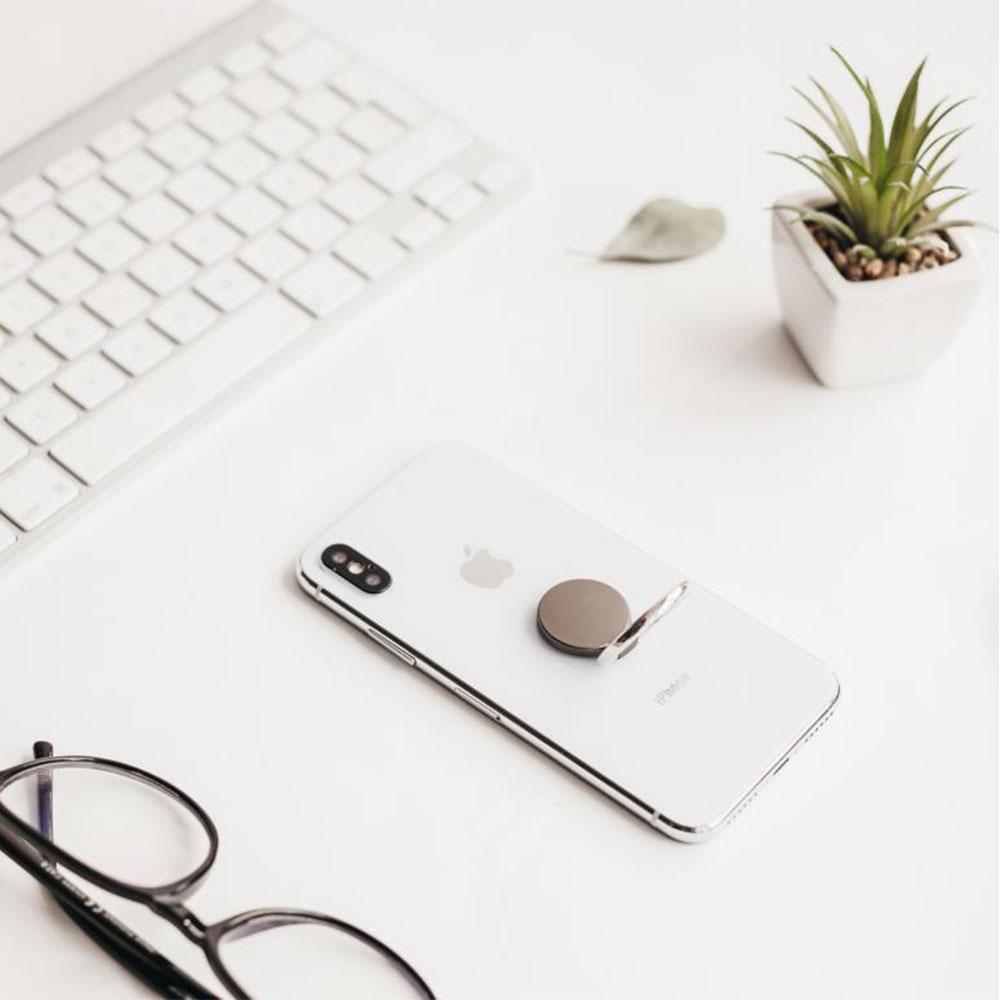 Smartphone Halter bedrucken: Twing Handyring als Werbeartikel