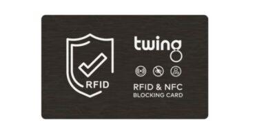 RFID Blocker Karte Twing gegen Skimming