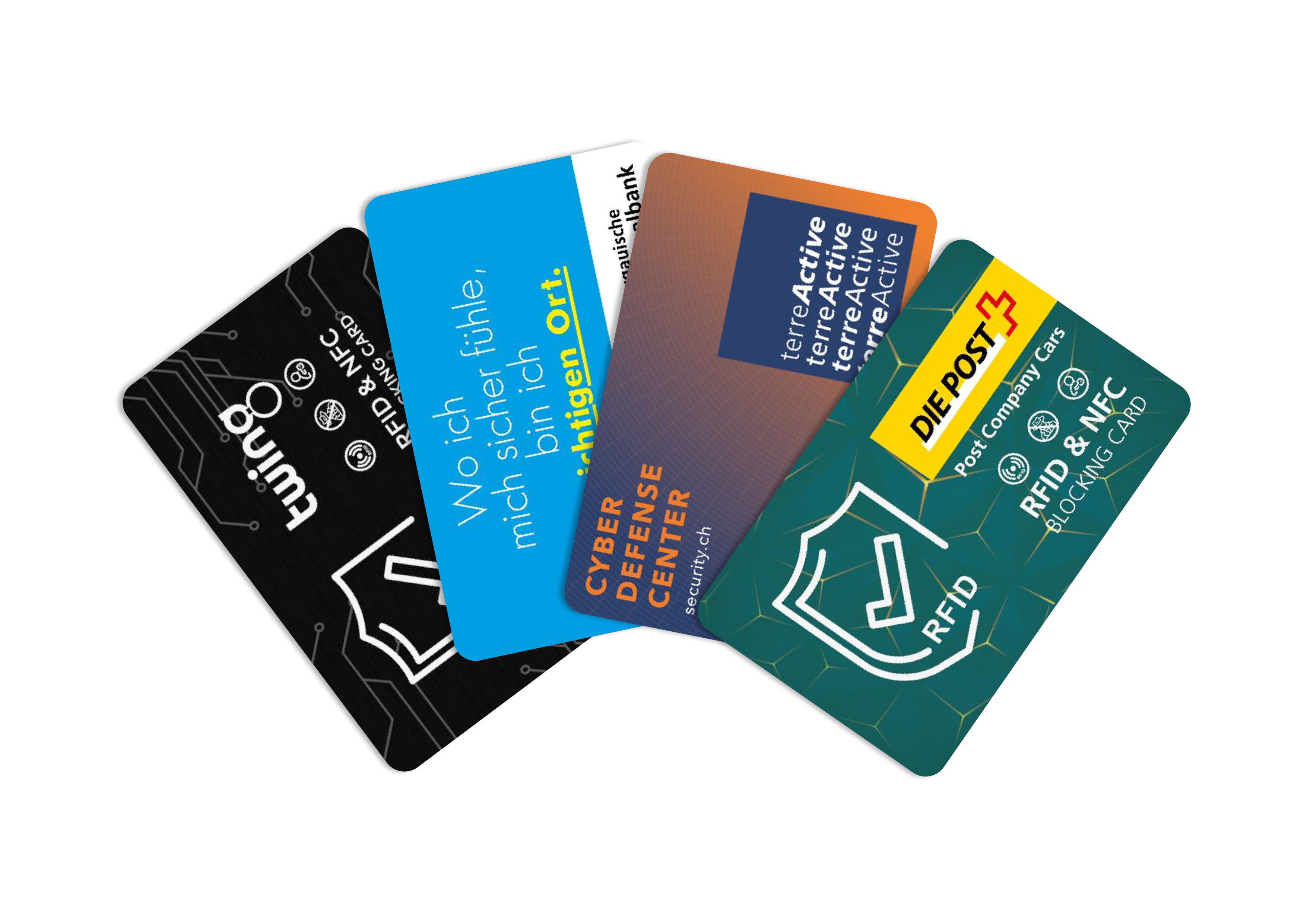 twing rfid blocker karte als innovativer werbeartikel - kundenbeispiele schutzkarte