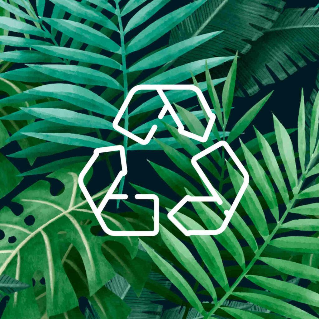 Nachhaltiges Material